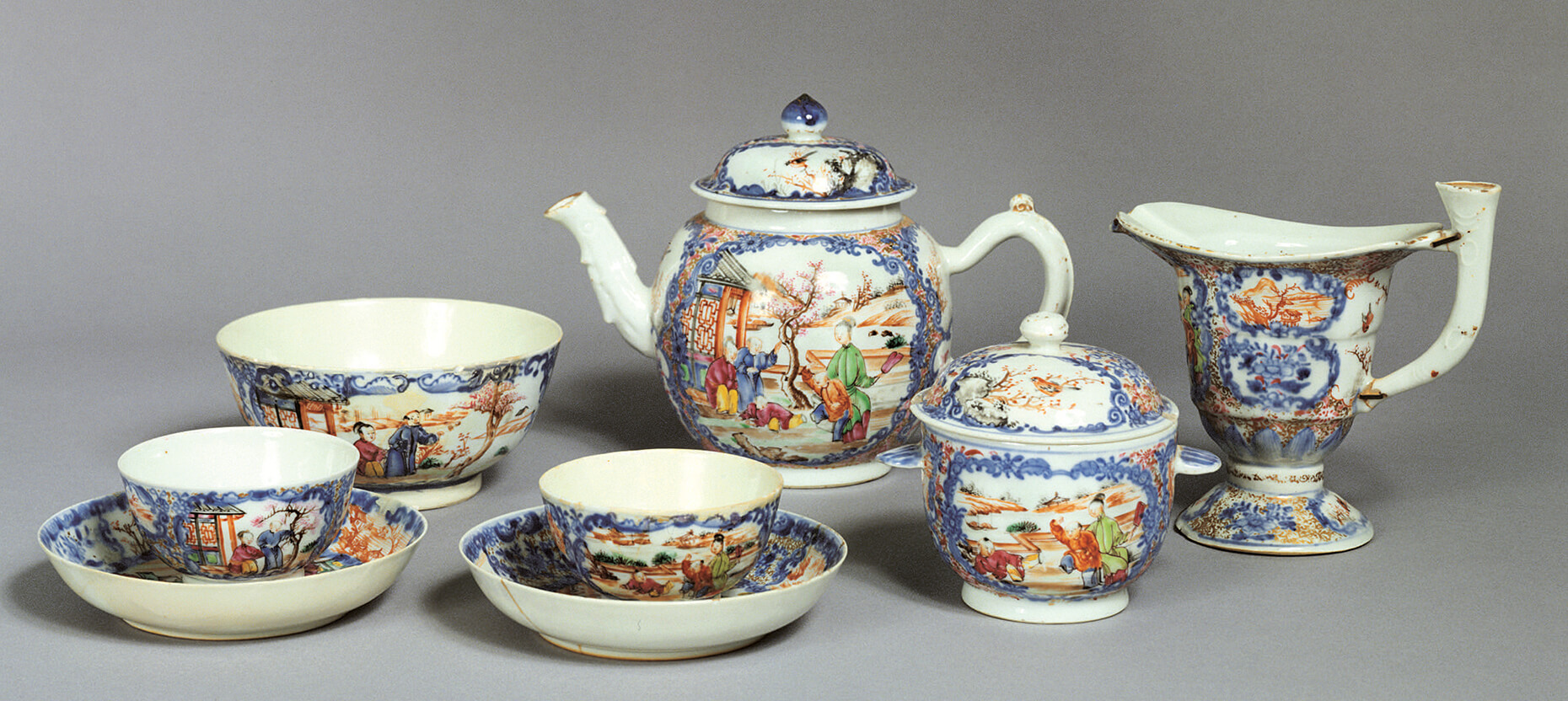 Washington Chinese tea set in Mt Vernon