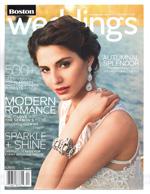 Boston weddings fall 2014 magazine cover