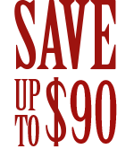 Save up to 91 Dollars