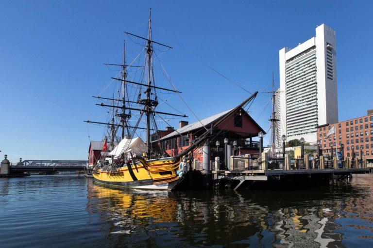 Boston Museum on the boston harbor