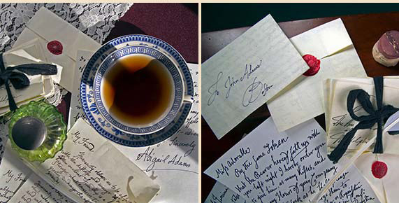 love letters of john and abigail adams