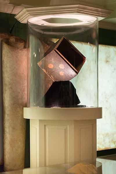 original tea chest from the boston tea party at the boston tea party ships and museum