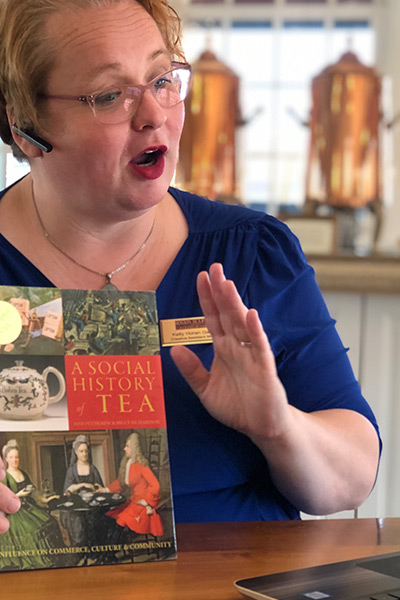 virtual tea talk at the boston tea party ships and museum