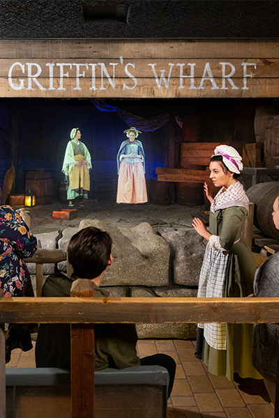 griffins wharf at the boston tea party ships and museum