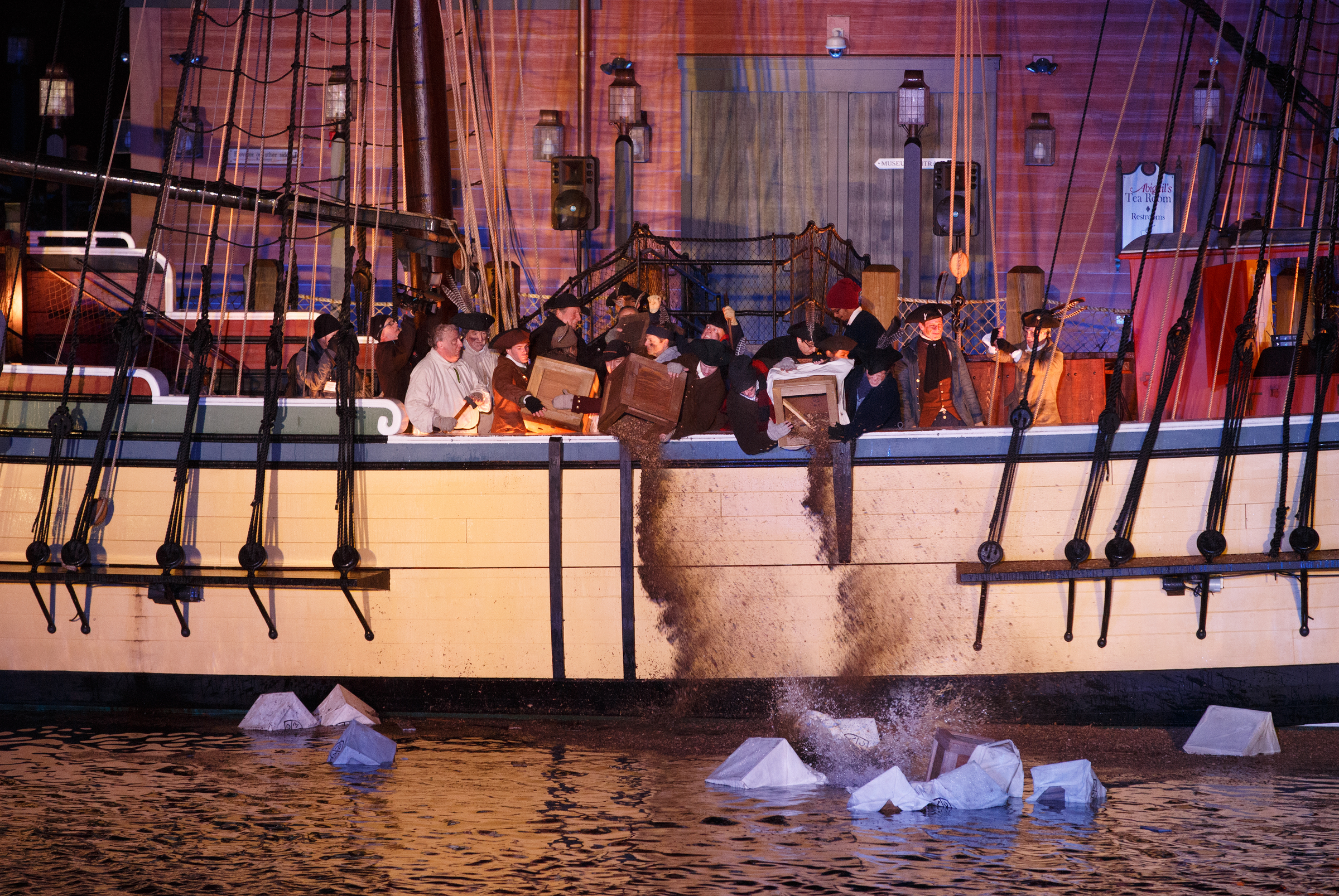 House Building Program Press Releases And News About The Boston Tea Party Museum